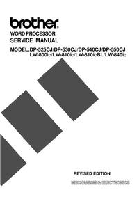 Instrukcja serwisowa Brother DP-530CJ