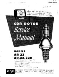 Manual de servicio CDE AR-22