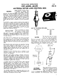 Manual del usuario CDE AR-22R