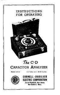 Bedienungsanleitung CDE BF-50