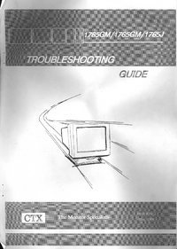 Manuale di servizio CTX 1785GM
