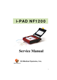 Serviceanleitung CUMedicalSystems i-PAD NF1200