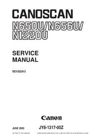 Service Manual Canon Canoscan N656U