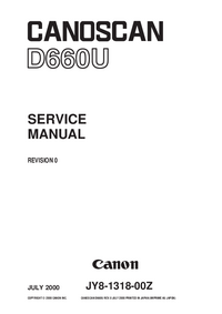 Service Manual Canon D660U