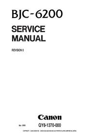 Service Manual Canon BJC-6200