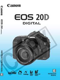 Manuel de l'utilisateur Canon EOS 20D