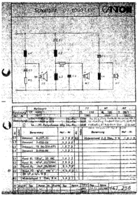 Schéma cirquit Canton CT 1000/1