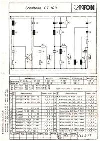 Diagrama cirquit Canton CT 100