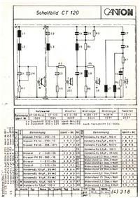 Diagrama cirquit Canton CT 120