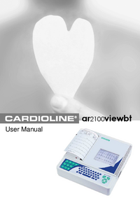 User Manual Cardioline ar2100viewbt