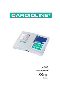 Manuel de l'utilisateur Cardioline ar600