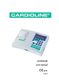 Manuel de l'utilisateur Cardioline ar600adv