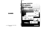 Manual del usuario Casio FX-6300G
