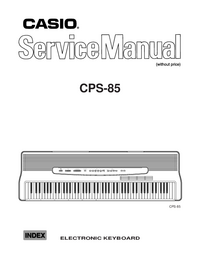 Service Manual Casio CPS-85