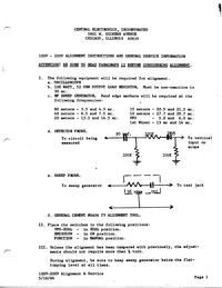 CentralElectronics-9112-Manual-Page-1-Picture