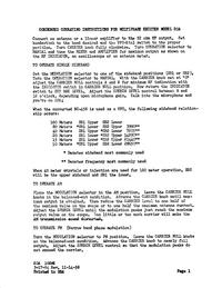 Gebruikershandleiding, Schema CentralElectronics 20A