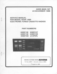 Service Manual Chrysler 4469108
