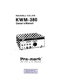 Serviço e Manual do Usuário Collins KWM-380