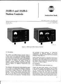Servizio e manuale utente Collins 312B-5