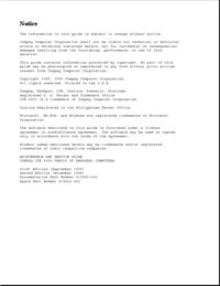 Servicehandboek Compaq LTE 5100