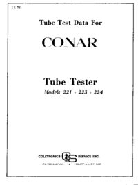 Conar-9181-Manual-Page-1-Picture