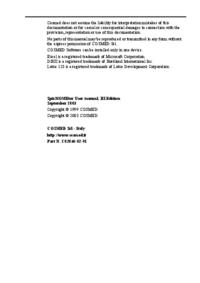 Gebruikershandleiding Cosmed SpirHOMEter