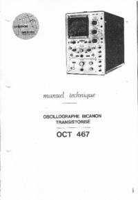 Manual de serviço Crc OCT 467