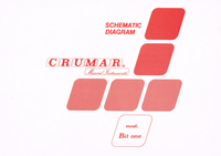 Cirquit Diagramma Crumar Bit one