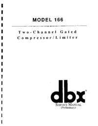 Manuale di servizio DBX 166