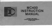 User Manual Daetron MC400
