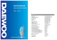 Manual de servicio Daewoo DV-125