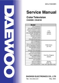 manuel de réparation Daewoo CN-001M