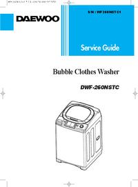 Servicehandboek Daewoo DWF-260NSTC
