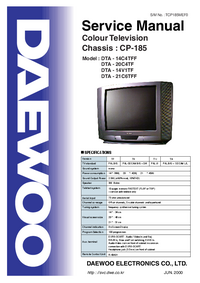 Manual de servicio Daewoo DTA - 14V1TF