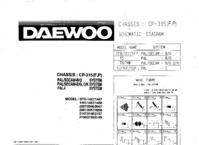 Cirquit diagramu Daewoo CP-315