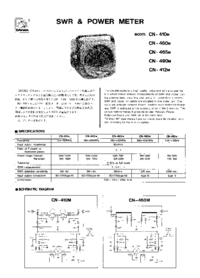 Manual del usuario Daiwa CN-460M