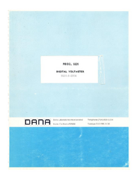 Service Manual Dana 5524