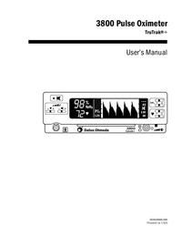 Instrukcja obsługi DatexOhmeda 3800