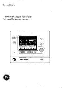 Service Manual DatexOhmeda 7100