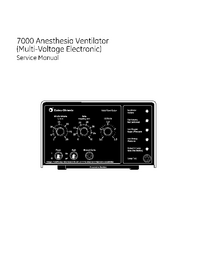 Service Manual DatexOhmeda 7000