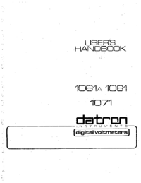 Datron-8187-Manual-Page-1-Picture