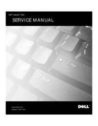 Manual de servicio Dell Latitude C800