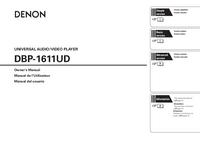 Gebruikershandleiding Denon DBP-1611UD