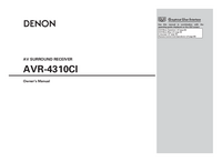 Denon-2997-Manual-Page-1-Picture