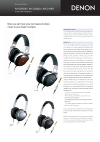 Denon-6010-Manual-Page-1-Picture