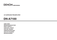 Denon-6014-Manual-Page-1-Picture