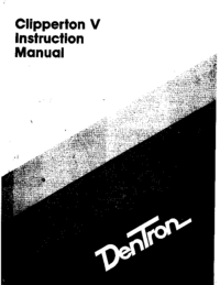 Service and User Manual Dentron Clipperton V