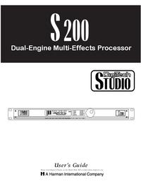 Bedienungsanleitung Digitech S200