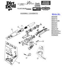 Service Manual DirtDevil HDS400