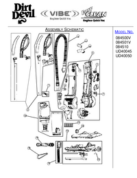 Manual de servicio DirtDevil UD40050